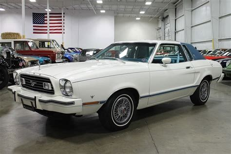 new glacier white 1977 ford mustang ii for sale mcg