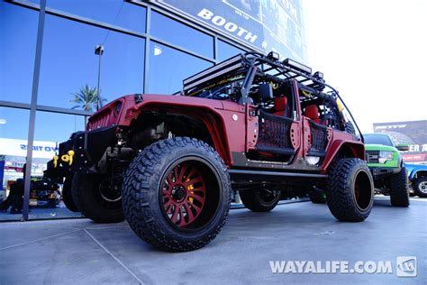 starwood motors jeep white 2014 sema starwood motors vpr jeep jk wrangler unlimited