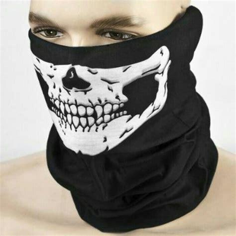 Masker Buff jual beli buff bandana masker topeng skull tengkorak