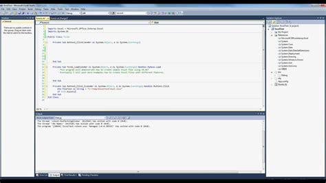 format excel vb net format excel file using vb net find last column in an