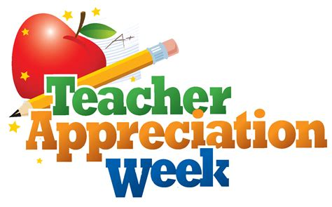 Appreciation Week 2017 Card Templates by Appreciation Week Is May 2 6 Pleasant Ridge Pta