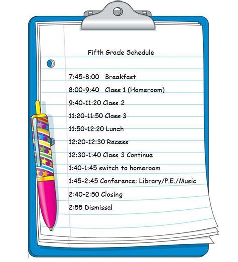 Elementary Classroom Schedule Template Free Download Printables Redefined Elementary School Class Schedule Template