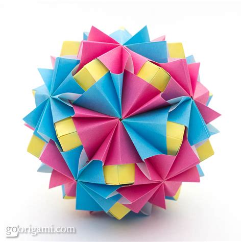 Origami On The Go - waltz sonobe by sinayskaya diagram go origami