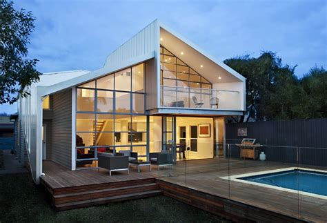 architectural house as blurred house transforms from cali bungalow to modern home