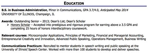 how to write a great resume part 4 of 4 education