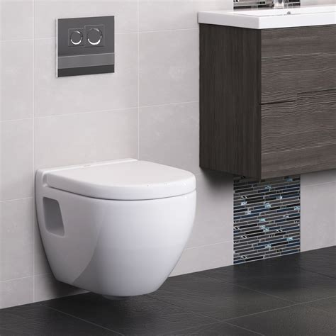 modern toilet dual flush concealed wc cistern with wall hung frame