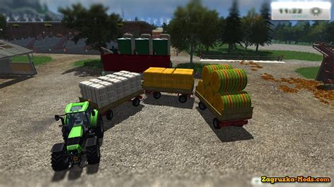 download game big farm mod trailer krone zx550 v2 4 for farming simulator 2013