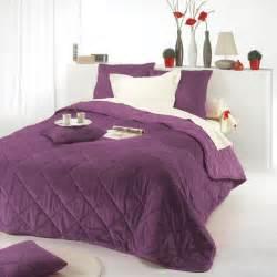 couvre lit matelass 233 soho prune eminza
