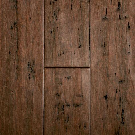 Distressed Honey Bamboo Flooring - 9 16 quot x 5 1 8 quot rustic clove bamboo morning lumber
