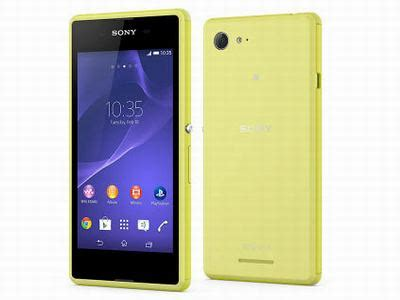 Hp Android Sony Xperia E3 review sony xperia e3 ponsel 4g murah review hp android