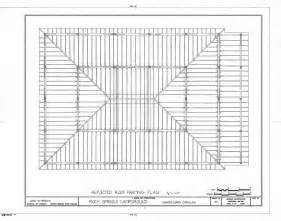 Roof Building Plans by Arbor Roof Framing Plan Rock Springs Campground Lincoln