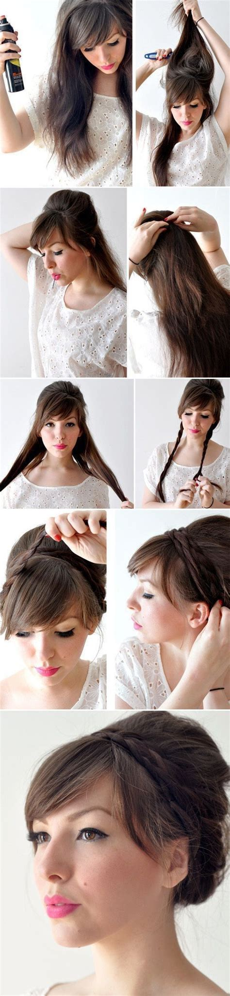hairstyles and easy to do m easy to do hairstyles easy step by step hairstyles