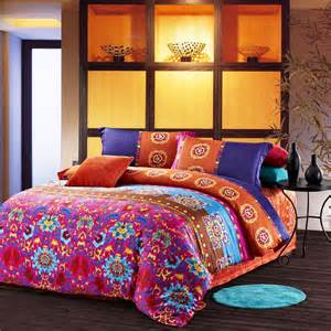 Orange Bedding Sets Canada Orange Blue Purple And Brown Luxury And Fashion