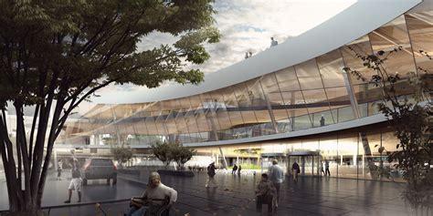 hospital design proposal nyt hospital nordsj 230 lland shortlisted proposal big