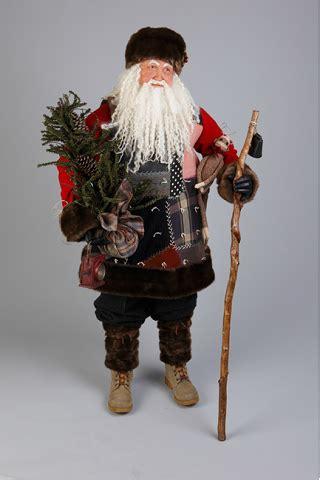 4 foot santas 4 foot backwoods santa free standing lindy s original santa claus santa