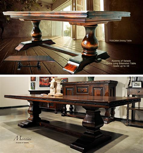 tuscan dining tables at accents of salado see our best