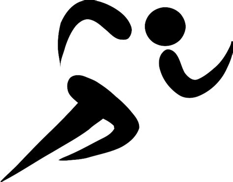 cross country running tattoos free image on pixabay running silhouette black