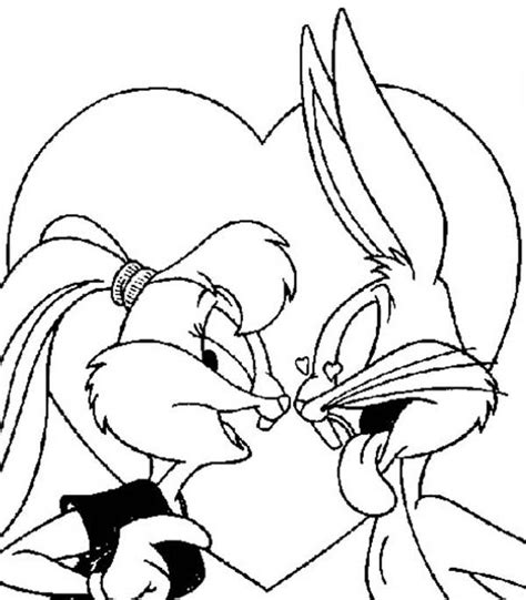 lola y bugs bunny colouring pages bugs bunny and lola bunny coloring pages az coloring pages