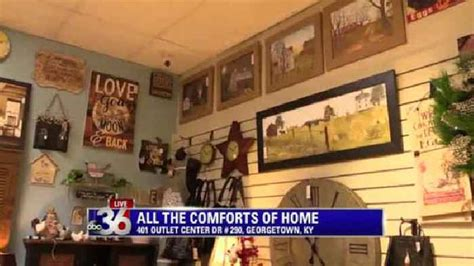 comforts of home all the comforts of home live shot 1 one news page video