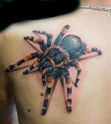 home tarantula tattoos