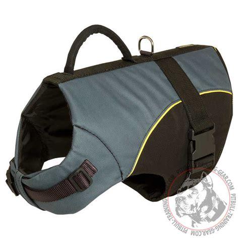 harness vest buy pitbull vest harness walking equipment with handle