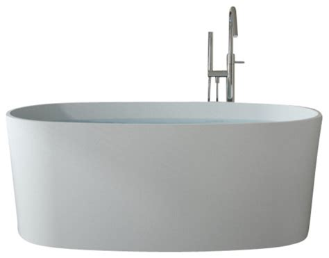 bathtubs freestanding modern badeloft upc certified stone resin freestanding