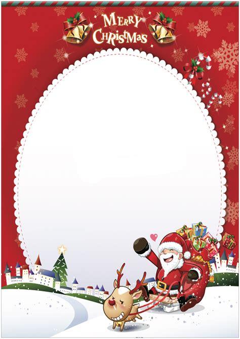 lettere natalizie modelli di lettera a babbo natale da stare gratis