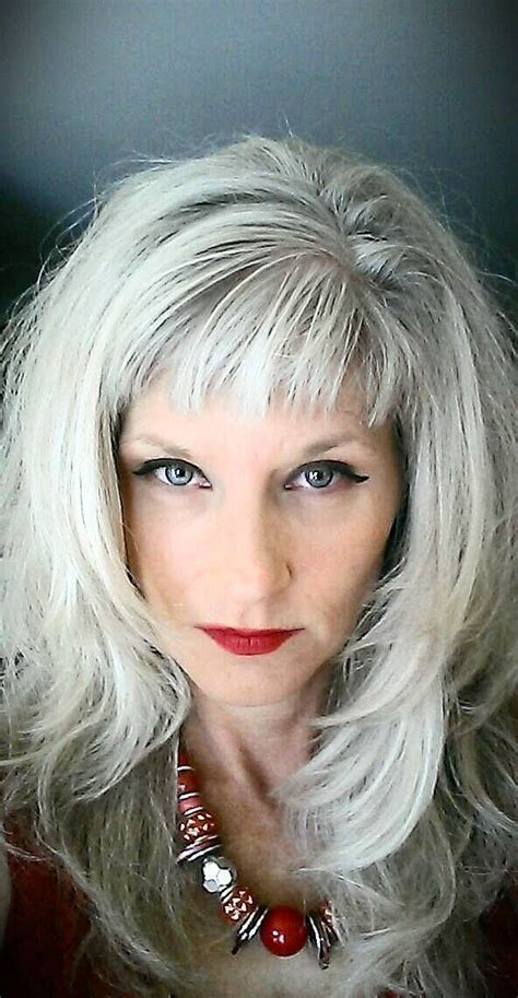 photo of striking gray hair 427 best striking silver images on pinterest hairstyles