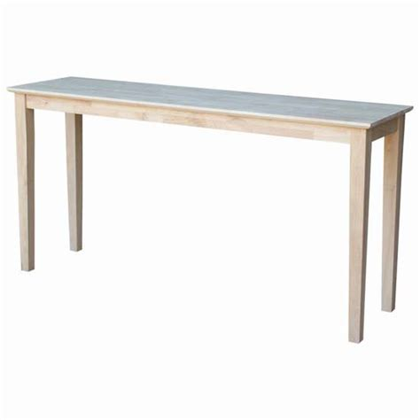 console tables 60 w shaker console table with extended