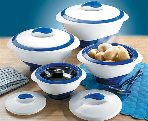 Insulated Serving Set insulated serving bowls 4 blue review compare prices
