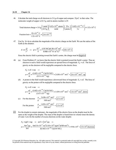 section 18 charge instructor s solution manuals to physics principles with