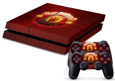 Skin Manchester decal skin sticker ps4 of manchester united skins for console