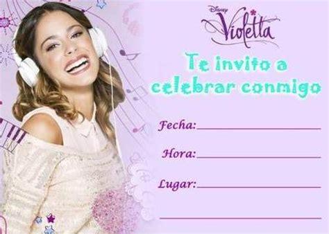 imagenes de violetta que digan feliz cumpleaños tarjetas de cumplea 241 os de violetta gu 237 a de manualidades