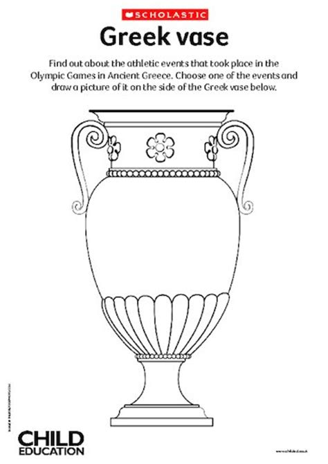 greek vases coloring page pictures greek ancient vase coloring page picture super