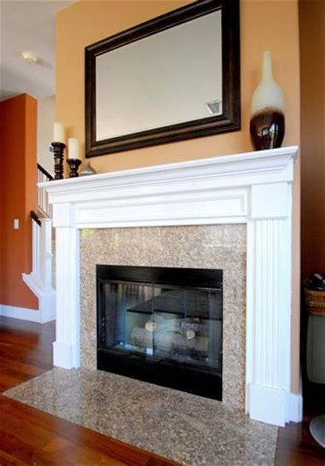 How To Paint Fireplace Surround by Oak Mantel Makeover Flats Fireplaces And Fireplace Mantels