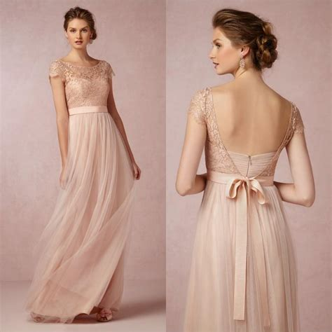 New Produk G Dress Jodyn lace coral bridesmaid dresses with sleeves 2017