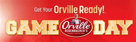 orville redenbacher get your orville ready sweepstakes and iwg win 10 000 - Orville Redenbacher Sweepstakes