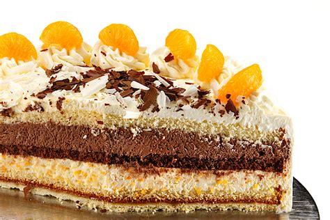mandarinen sahne kuchen zink b 228 ckerei konditorei schoko mandarinen sahne torte