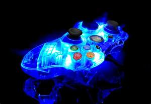 Light Up Xbox 360 Controller Glow In The Dark Controller Idea Se7ensins Gaming Community