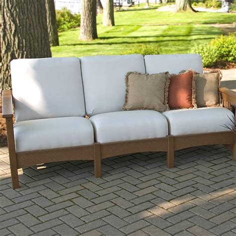 mission patio furniture club mission sofa recycled outdoor furniture cmc71