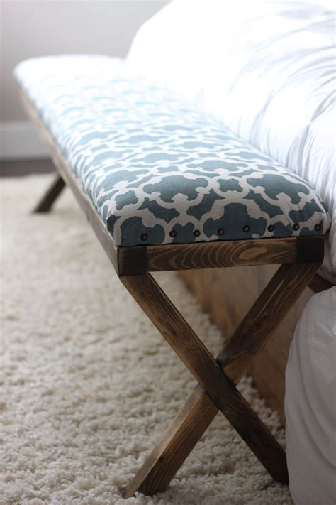 diy bedroom storage bench seat pictures 03 small room ana white super easy diy upholstered x bench diy projects