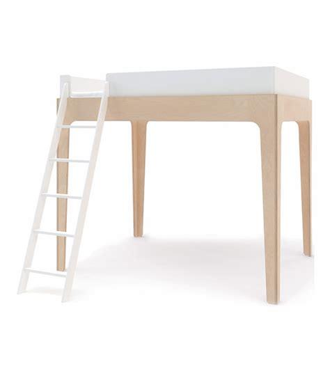 Oeuf Perch Loft Bed In White Birch Oeuf Perch Bunk Bed Sale