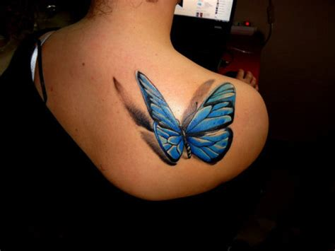 3d butterfly tattoo 85 3d tattoos that will blow your mind creative fan