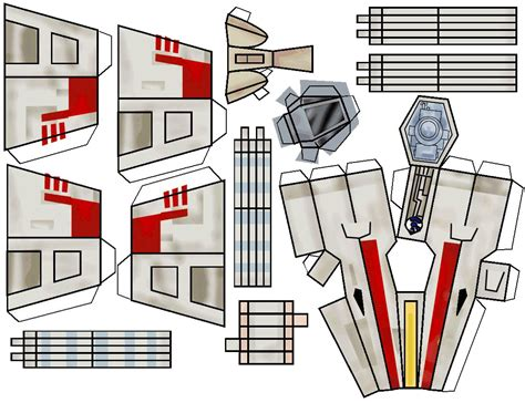 Wars Papercraft Templates - wars printable paper crafts