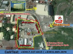 500 square meter lot only commercial lot f cabahug street mandaue city infront of jolibee beside sykes