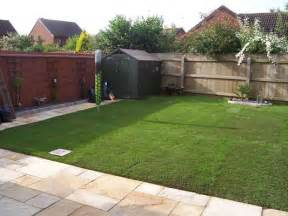 outdoor patio patio slabs and turf laid mr parker builders lincolnshire