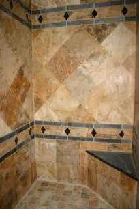 Scabos tile shower
