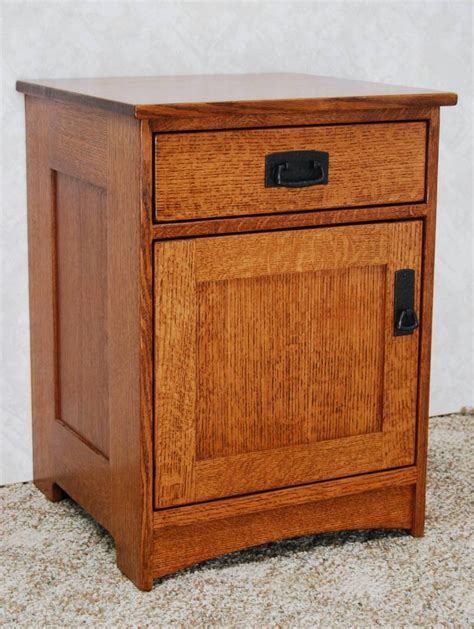 Mission Style Nightstands Mission Style Stand De Vries Woodcrafters