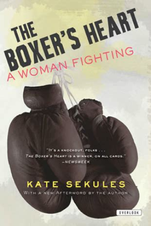 is a fight memoirs of a boxer books the boxer s by kate sekules for books sake