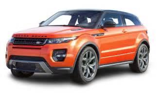 range rover evoque orange car png image pngpix